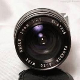 Panagor auto wide angle 28mm f2.8 (Nikon mount) made in Japan